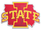 Iowa State Cyclones State Auto Emblem Auto Accessories