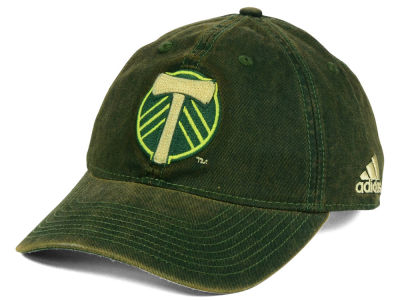 Portland Timbers adidas MLS Rustic Slouch Cap