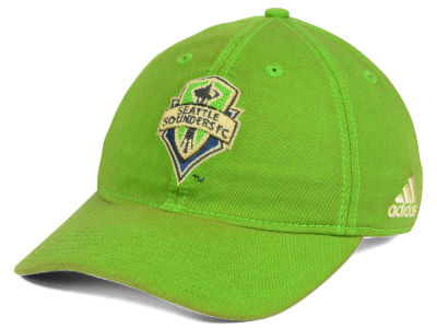 Seattle Sounders FC adidas MLS Rustic Slouch Cap