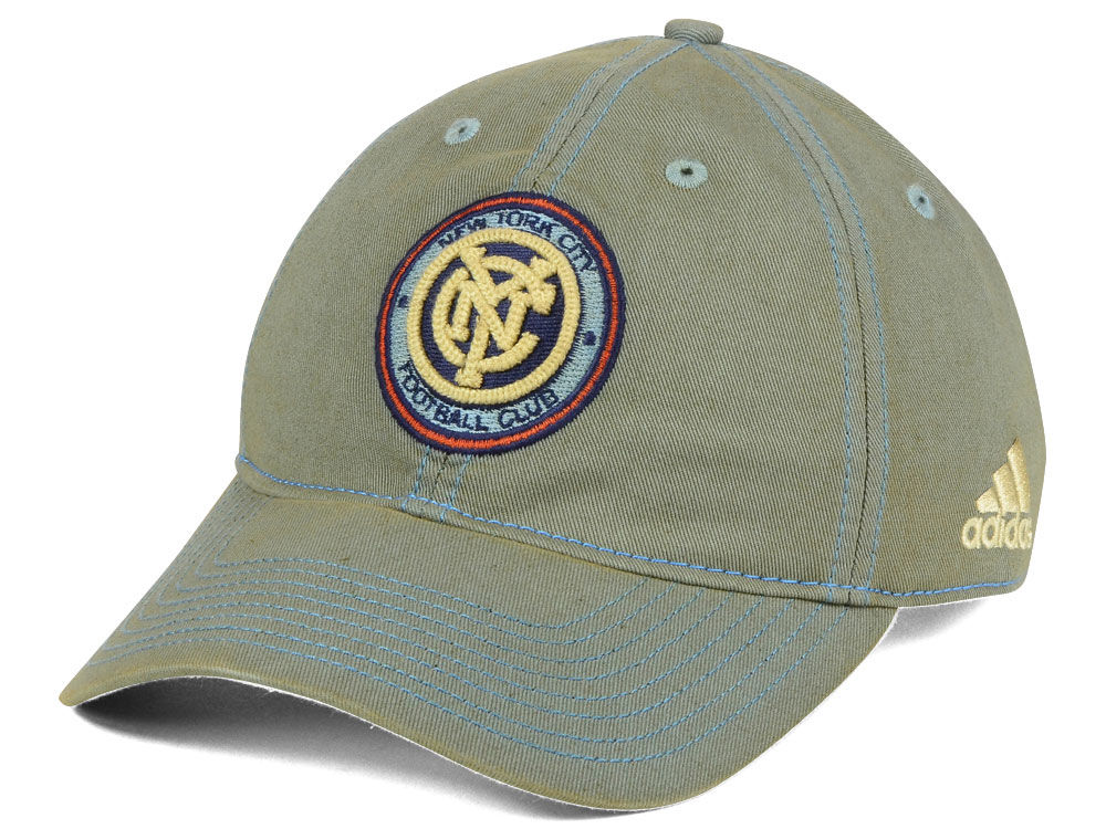 lowest price dcc84 7511e ... where to buy new york city fc adidas mls rustic slouch cap 39e41 1e17b