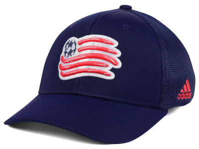New England Revolution adidas MLS Goal Flex Cap