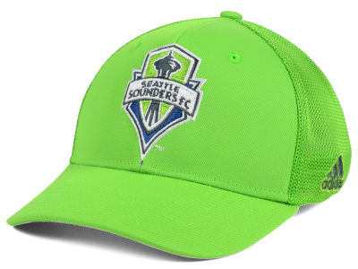 Seattle Sounders FC adidas MLS Goal Flex Cap