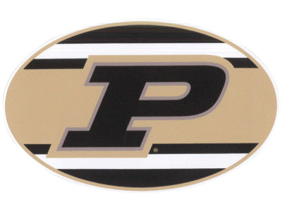 Purdue Boilermakers 5x7 Super Stripe Decal