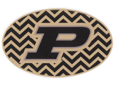 Purdue Boilermakers 5x7 Chevron Decal
