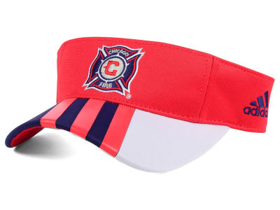 Chicago Fire adidas MLS Authentic Visor