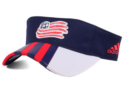 New England Revolution adidas MLS Authentic Visor
