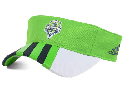 Seattle Sounders FC adidas MLS Authentic Visor