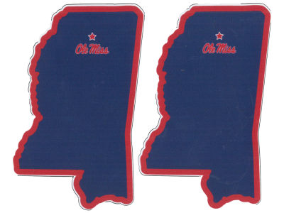 Ole Miss Rebels State Magnets