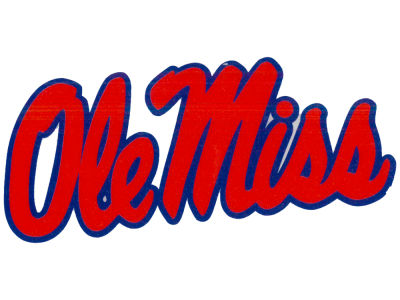 Ole Miss Rebels Vinyl Decal