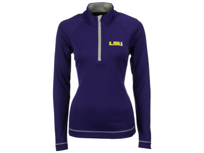 LSU Tigers Cutter & Buck NCAA Women's Evolve Chromaflex Half Zip Pullover