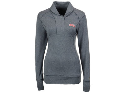 Ole Miss Rebels Cutter & Buck NCAA Women's Shoreline Half Zip Pullover