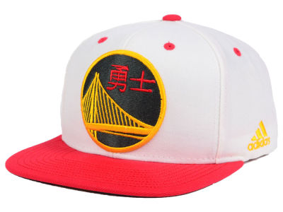 Golden State Warriors adidas 2017 NBA Chinese New Year Hook Snapback Cap