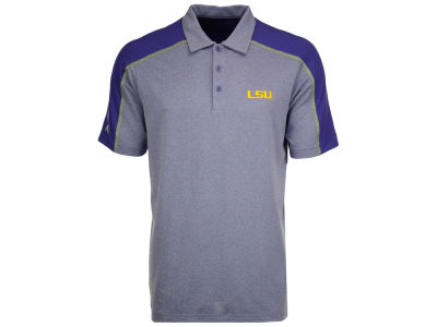 LSU Tigers Antigua NCAA Men's Sustain Polo