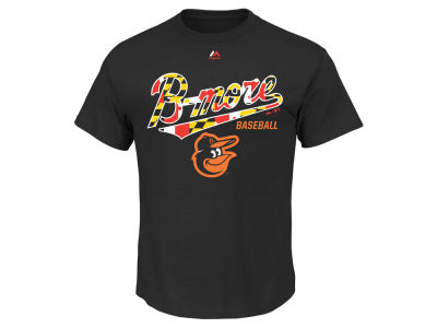 Baltimore Orioles Majestic MLB Men's Local Passion T-Shirt