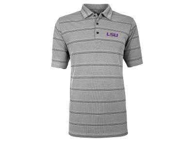 LSU Tigers Antigua NCAA Men's Adept Polo