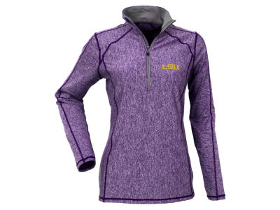 LSU Tigers Antigua NCAA Women's Tempo 1/2 Zip Pullover