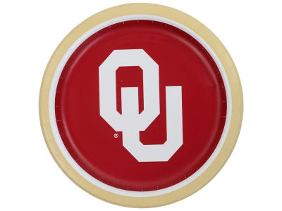Oklahoma Sooners 8-pack 9inch Dinner Plates