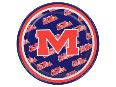 Ole Miss Rebels 8-pack 7inch Luncheon Plates