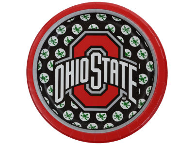 Ohio State Buckeyes 8-pack 7inch Luncheon Plates