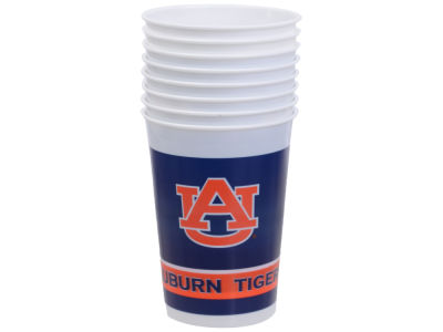 Auburn Tigers 8-pack 20oz Plastic Cups