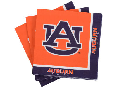 Auburn Tigers 16-pack Luncheon Napkins