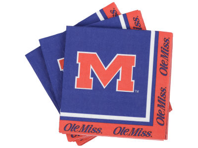Ole Miss Rebels 16-pack Luncheon Napkins