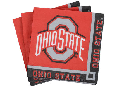 Ohio State Buckeyes 16-pack Luncheon Napkins