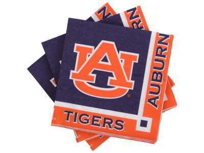 Auburn Tigers 16-pack Beverage Napkins