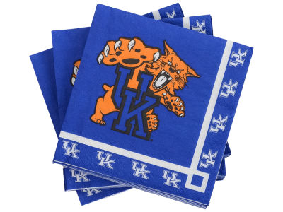 Kentucky Wildcats 16-pack Beverage Napkins