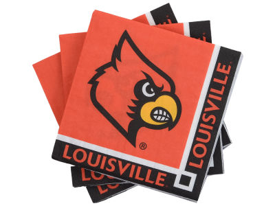 Louisville Cardinals 16-pack Beverage Napkins