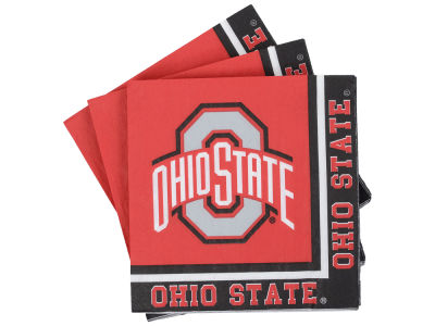 Ohio State Buckeyes 16-pack Beverage Napkins