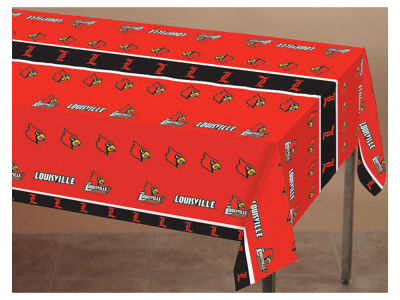 Louisville Cardinals Printed Tablecloth