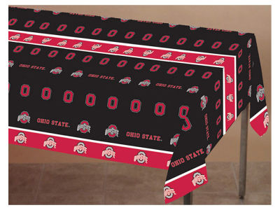 Ohio State Buckeyes Printed Tablecloth