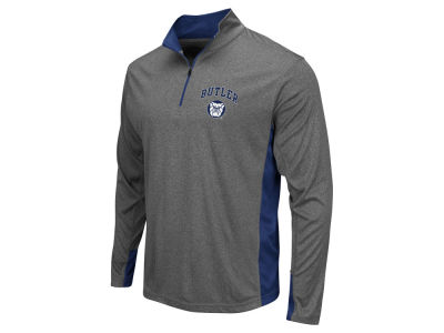 Butler Bulldogs Colosseum NCAA Men's Ridge Runner 1/4 Zip Pullover