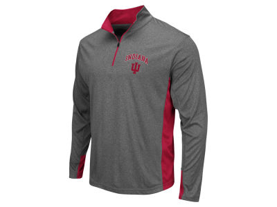 Indiana Hoosiers Colosseum NCAA Men's Ridge Runner 1/4 Zip Pullover