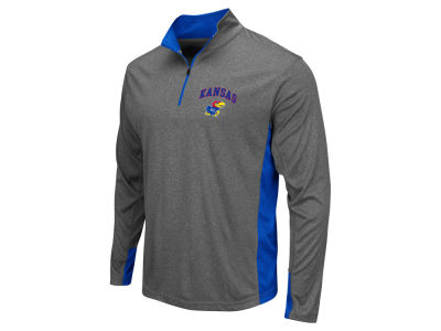 Kansas Jayhawks Colosseum NCAA Men's Ridge Runner 1/4 Zip Pullover