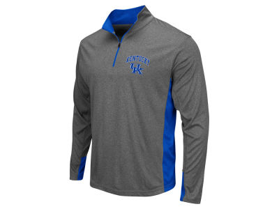 Kentucky Wildcats Colosseum NCAA Men's Ridge Runner 1/4 Zip Pullover