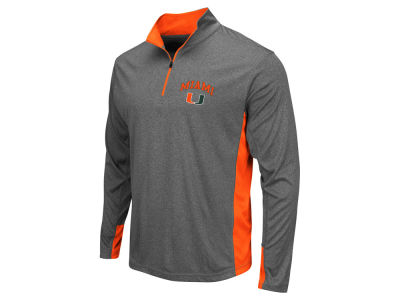 Miami Hurricanes Colosseum NCAA Men's Ridge Runner 1/4 Zip Pullover