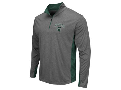Michigan State Spartans Colosseum NCAA Men's Ridge Runner 1/4 Zip Pullover