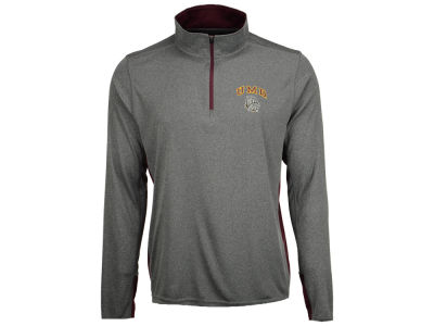 Minnesota Duluth Bulldogs Colosseum NCAA Men's Ridge Runner 1/4 Zip Pullover