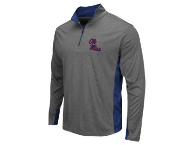 Ole Miss Rebels Colosseum NCAA Men's Ridge Runner 1/4 Zip Pullover