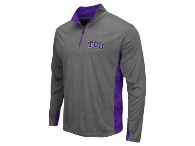 Texas Christian Horned Frogs Colosseum NCAA Men's Ridge Runner 1/4 Zip Pullover