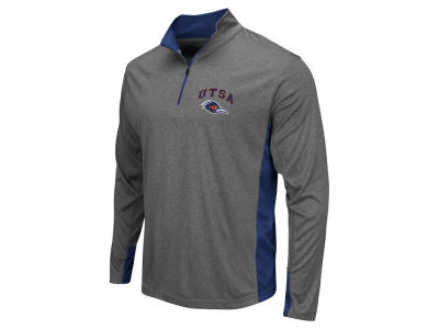 University of Texas San Antonio Roadrunners Colosseum NCAA Men's Ridge Runner 1/4 Zip Pullover