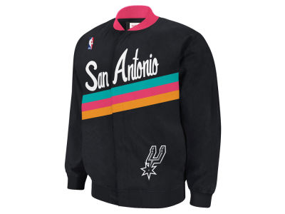 San Antonio Spurs Mitchell and Ness NBA Men's Authentic Warm Up Jackets