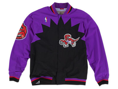 Toronto Raptors Mitchell and Ness NBA Men's Authentic Warm Up Jackets