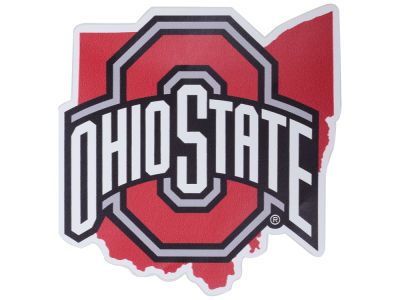 Ohio State Buckeyes 4x4 State Decal