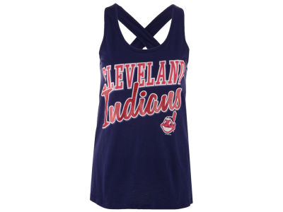 Cleveland Indians GIII MLB Women's On Base Tank