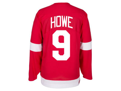 Detroit Red Wings Gordie Howe Reebok NHL Men's Retired Premier Player Jersey