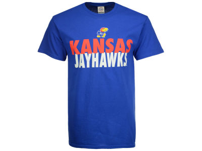 Kansas Jayhawks NCAA Men's Verb Stack T-Shirt