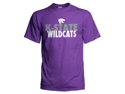Kansas State Wildcats NCAA Men's Verb Stack T-Shirt